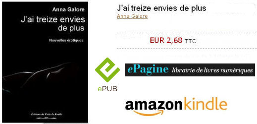 J'ai treize envies de plus (version Kindle)